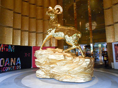 Golden goat (at MGM) (gavindeas) Tags: places china macau macao 中国 中國 澳門 澳门