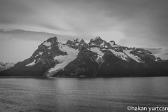 20150204-IMG_3765 (hakanyurtcan) Tags: bnw blackandwhite mountain lake patagonia chile şili güney amerika south america glacier ice water sky landscape monochrome monochromatic travel canon