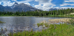 Mount Peskett, David Thompson Country, Alberta (www.clineriverphotography.com) Tags: mountpeskett landscape davidthompsoncountry aspect water panorama location canada lake 2013 alberta mountain