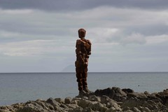 Anthony Gormley statue (MaggyN) Tags: anthonygormley saddell kintyre statue argyllscotland