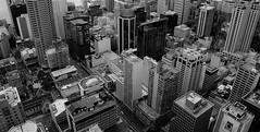 Grasp on reality (little_frank) Tags: auckland newzealand panorama view overview skytower buildings bw blackandwhite blackwhite future city town reality nuovazelanda aotearoa novazelândia grey great fantastic dizziness vertical verticality geometry vertigo