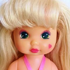 1991 Wee Li'l Miss Makeup - Nails Doll (The Barbie Room) Tags: 1991 wee lil miss makeup nails doll 1990s 90s mattel