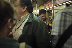 IMG_5932 (Runs With Scissors) Tags: 40mm nyc ©kensteinphotography violinplayer subway crowd