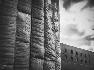 Le voile de l'architecture
