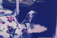 S P O U T (NadzNidzPhotography) Tags: nadznidzphotography teapot tea spout porcelain glaze design decor indoor lowkey