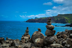 Nakalele Blowhole (jasonheneghan) Tags: nakalele maui hawaii blowhole balance rocks ocean blue