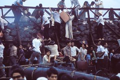 Saigon 29 Apr 1975 (manhhai) Tags: action asia asianandindianethnicities asianhistoricalevent barge battle climbing communist despair eastasianculture eastasianethnicity easternasian escaping fallofsaigon fear group groupofpeople harbor historicevent history hochiminhcity indochina largegroupofpeople many marxist motion northamericanhistoricalevent panic people sadness saigon saigonriver seaport southvietnam southvietnamese southeastasia southeastasianculture southeastasianethnicity terror unitedstateshistoricalevent vehicle vietnam vietnamwar vietnameseculture vietnameseethnicity vietnamesehistoricalevent war watercraft