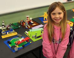 Georgetown Lego Club (ACPL) Tags: fortwaynein acpl allencountypubliclibrary georgetown geo legoclub 2017 whatacharacter