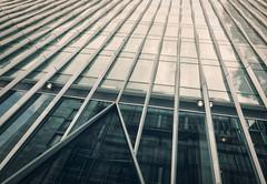 Fade Away (Sean Batten) Tags: london england unitedkingdom gb nikon d800 1424 architecture nova victoria city urban window reflection glass lines triangle