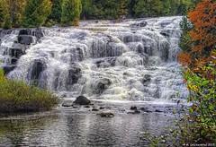 The Bond Falls Scenic Area, Ontonagon River, Michigan (PhotosToArtByMike) Tags: bondfalls bondfallsscenicsite ontonagonriver ontonagonmichigan mi upperpeninsulaofmichigan paulding upperpeninsula up waterfall uppermichigan autumn ottawanationalforest autumnleaves
