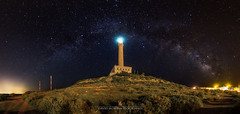 ARCO CENTENARIO (David Ros Photography) Tags: canon6d cartagena cabodepalos davidros españa faro lighthouse milkyway panoramic panoramica samyang spain vialactea