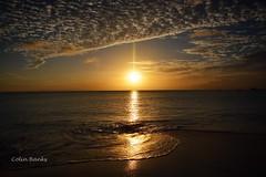 Reflective sands [explore 14-04-2017] (franbanks1 -( another day balder ) colin banks) Tags: antigua caribbean cloudporn