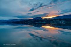 End of the day (Glen Eldstrom) Tags: sunset clouds kelowna okanagan okanaganvalley okanaganlake westkelowna britishcolumbia canada pier wharf reflections settingsun hdr landscapelovers