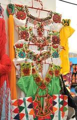 Beaded Blouses Mexico Textiles (Teyacapan) Tags: textiles mexican guerrero oaxaca mixtec blouses blusas chaquira beads clothing huipil
