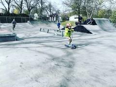Photo of He is speeding ??? #speeding #scooter #skate #park #grow #sunday #sundayfunday