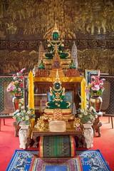 Chiang Mai - Wat Buppharam (Rolandito.) Tags: green thailand asia buddha south east mai southeast wat chiang emerald buppharam