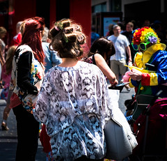 Only in Liverpool (Paul Griffiths Photos) Tags: street liverpool hair curlers