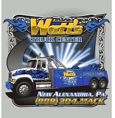 "Watt's Truck Center - New Alexandria, PA • <a style=""font-size:0.8em;"" href=""http://www.flickr.com/photos/39998102@N07/14997166914/"" target=""_blank"">View on Flickr</a>"