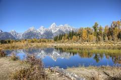 017 20140920 GTNP IMG_8918 (jvlady) Tags: autumn mountains reflection fall snakeriver grandtetonnationalpark schwabacherslanding