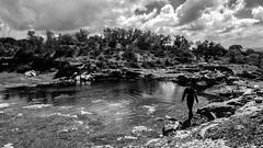 (Miguel.Galvo) Tags: white black portugal nature miguel walking landscape puddle rocks space e bento alentejo alto so vora galvo