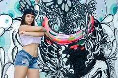 Fanny Doll (Jeison Morais) Tags: girls brazil woman hot sexy girl doll grafitti models modelos fanny brazilian grafite jeison morais jeisonmorais