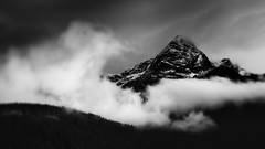 How Are You Going To Live Without The Light Of The Sun? (John Westrock) Tags: blackandwhite mountains nature clouds landscape outdoors scenery scenic pacificnorthwest washingtonstate northcascades canoneos5dmarkiii lensbabycomposerpro edge80optic johnwestrock