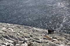 cdigo de barras (RalRuiz) Tags: espaa camino nieve otoo senderismo senda comunidaddemadrid cuerdalarga boladelmundo sierradeguadarrama piornal lamaliciosa altodelasguarramillas parquenacionaldelasierradelguadarrama colladodelpiornal