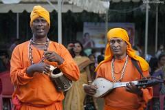 Baul Singers performing during the Durga Puja. (rajphotog) Tags: music poetry folk folkmusic bangladesh westbengal baul rabindranathtagore folkmusicians dotara khomok