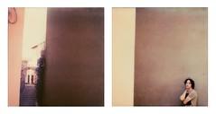 Savignano (La T / Tiziana Nanni) Tags: film polaroid sx70 luca colours analogue due pola impossible analogic polaroidsx70 pellicola colorfilm analogico istantanea dittico iamyou neinostriluoghi tizianananni