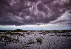 Low Storm Clouds Pensacola Pass (Stuart Schaefer Photography) Tags: sky seascape clouds landscape florida storms pensacolapass flortpickens santarosainsland