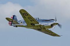 Curtiss P-40C Warhawk IIB - 23 (NickJ 1972) Tags: aviation airshow ii duxford curtiss tomahawk 160 2014 iwm p40 warhawk flyinglegends 10ab n80fr