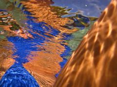 140926-sarah-underwater-eyepopping-colors-blue-bikini-hamoa (zverina.com) Tags: underwater bubbles refraction ripples hamoabeach underh20 h2undero subaquaceous