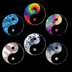 Clipping mask practice (ally.gracie) Tags: colorful yang yinyang yin tumblr