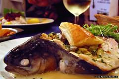 2004-06 Forel - een regionale specialiteit (Restaurant Leo Bastogne/BEL) (About Pixels) Tags: 2004 bastogne bel belgium collecties eten leo restaurant restaurantleo wallonie aboutpixels vis fish dish forel trout food zomerseizoen 0610 juni mnd06 belgië