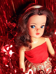 Sweetheart Sindy (miss♡sindy) Tags: red fashion vintage doll dolls heart 16 sweetheart dolly pedigree sindy playscale