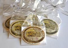 Rodeo Belt Buckle Cookies