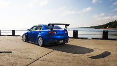 Varis Widebody Evo X (Brad Sillars) Tags: light usa chicago brad canon photography natural emotion 10 bees low alien evolution automotive x racing crew modified mk2 5d import mitsubishi jdm volk evo strobe slammed mkii stance takata widebody tuned bulletproof varis b800 sillars te37sl