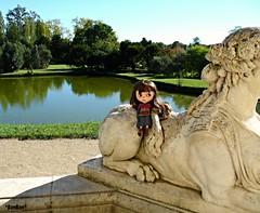 In Versailles park