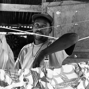 Aloukou man, Maripasoula, French Guyana