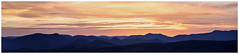Canberra Panorama (Blokstar) Tags: sunset panorama nikon south side hills layers canberra tamron 70200 stitched f28 d810