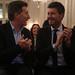 Mauricio Macri participa de la Declaracion de Personalidad Destacada de la Cultura a Marcelo Tinelli.