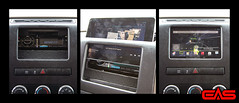 A tablet dock adds a new dimension of functionality to your vehicle.  We build specific to your vehicle and your device.