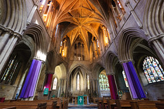 Pershore Abbey 02 (Michael Wilby) Tags: architecture churches worcestershire pershoreabbey nikond90
