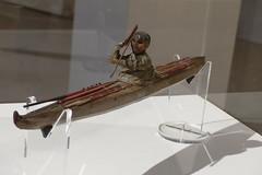 Model van Visser in kajak Alaska