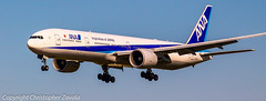 All Nippon Airways (ANA) Boeing 777-300 (Doctor Christopher) Tags: ana boeing boeing777 boeing777300 staralliance allnipponairways chicagoohareinternationalairport