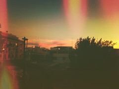 On the way to... (galwachs) Tags: street city sky luz clouds lights luces calle ciudad cel ciel cielo lumiere nubes flare nuages rue carrer ville ciutat llum cite nubols hazdeluz elguinardo