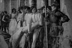 "Mantegna, Chiesa Eremitani ""Trasporto del corpo di san Cristoforo"" (February29) Tags: bw church sony 100mm chiesa fresco manualfocus f28 a7 padova mantegna affresco eremitani kaleinar"