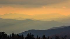 Enjoying The View (NathanFirebaugh) Tags: sunset mountains tennessee greatsmokymountainsnationalpark newfoundgap