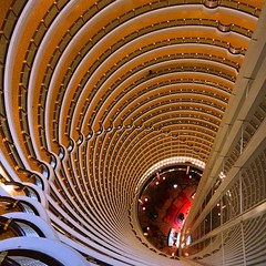 Now that's a lobby! (Jeroen van Dam) Tags: tower architecture shanghai highrise  atrium grandhyatt jinmaotower