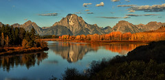 The Glory of Morning (Jeff Clow) Tags: morning autumn fall bravo seasons seasonal wyoming grandtetonnationalpark oxbowbend jeffclowphototours
